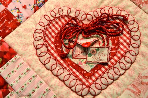 Embellished Hearts - Envelope Heart full heart