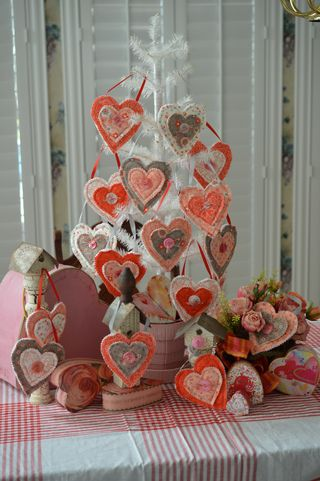 Valentine tree display