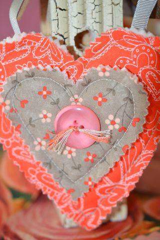 Single Heart closeup