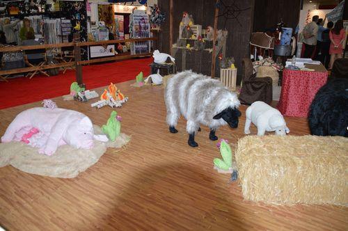 Shamrock Fabrics display
